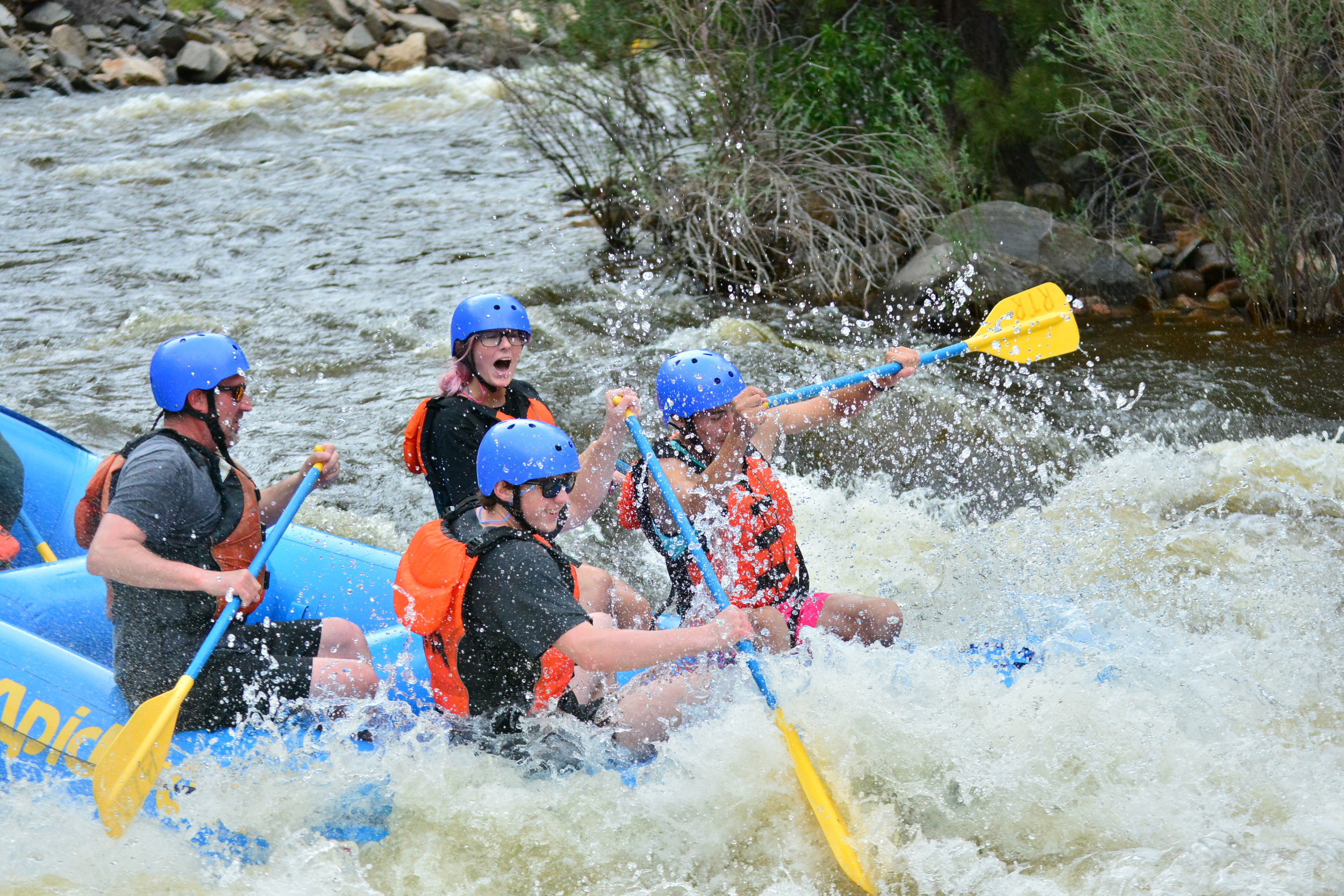 photographer - Capture images of people having the time of their lives rafting with us.
