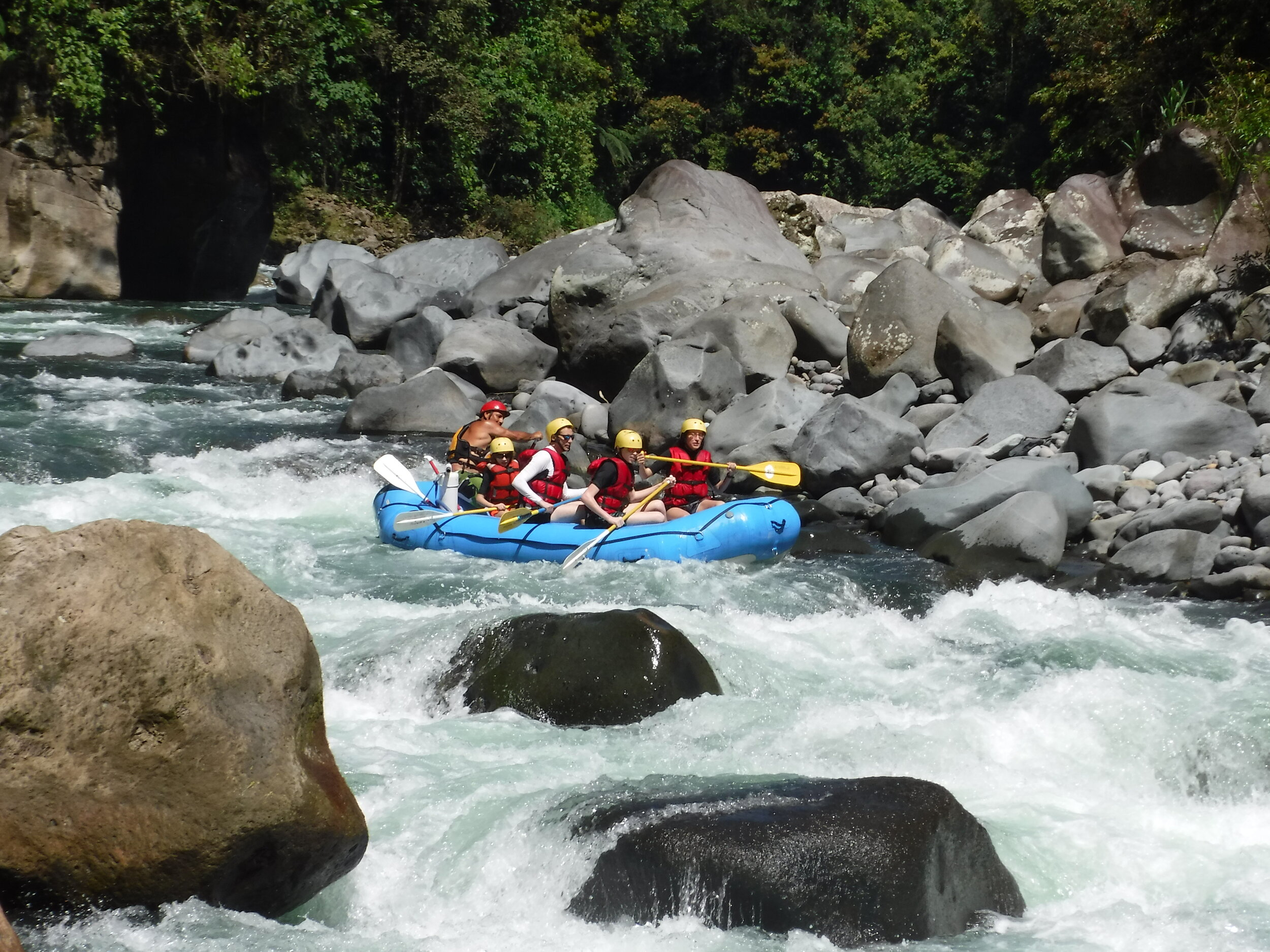 World Class Whitewater - Incredible Class III-IV whitewater on one the top 10 rivers to raft according to National Geogrpahic Magazine