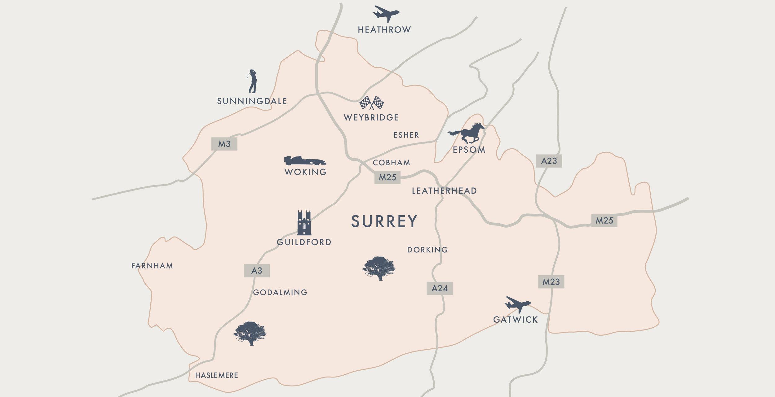 Benefact Property Finders Map of Surrey.jpg