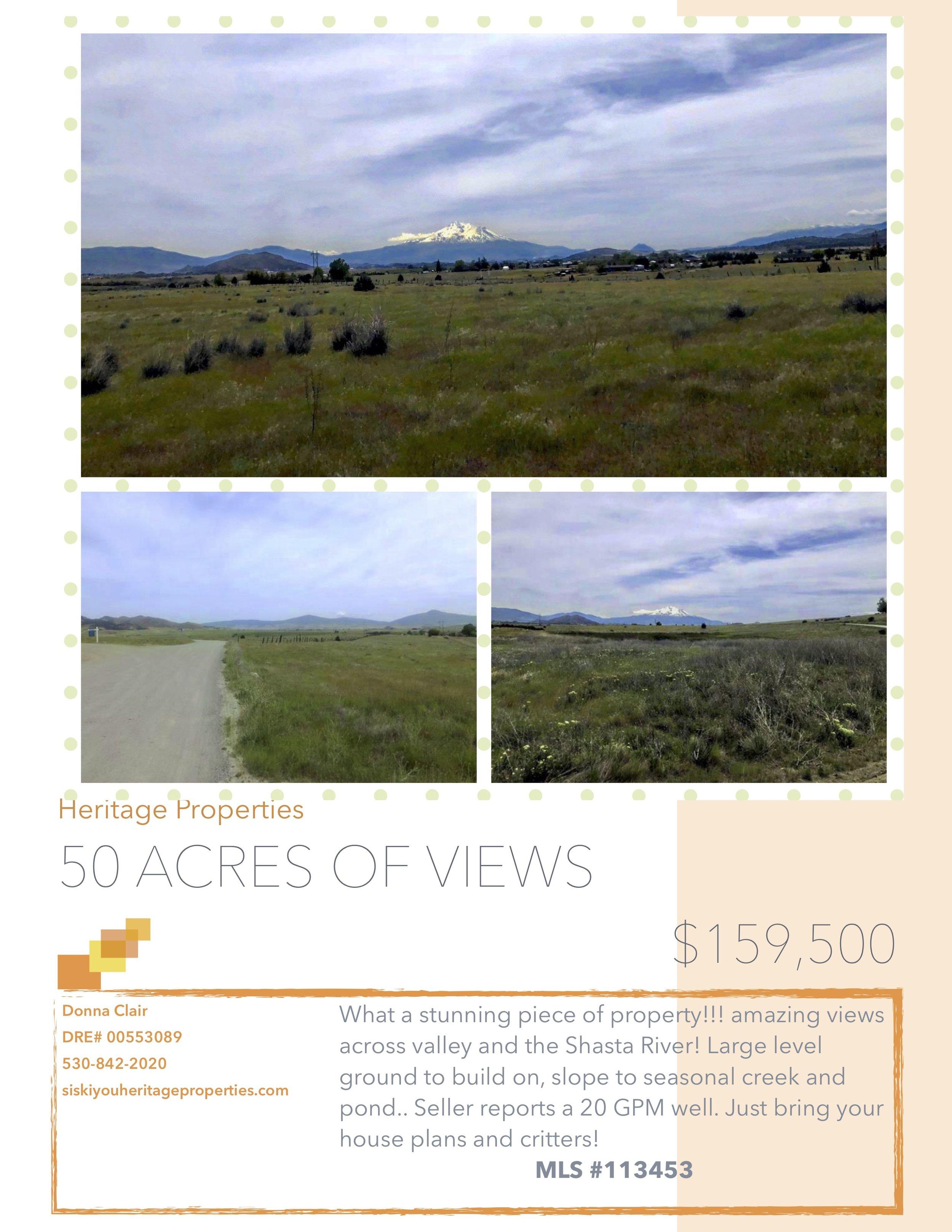 50 Acres of Views
