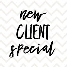Special Offers for Packages and New Clients