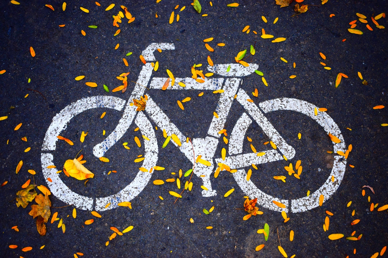 bike trails, biking in Highland Park, Go Green HP