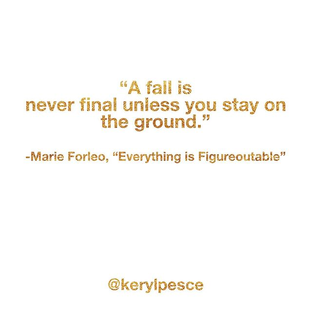 Just in case you feel shot down, have stumbled, or maybe even full-on face planted, here's a little something to help you get back up. 💕💫💞#everythingisfigureoutable . . . . . . #bebrave, #betruetoyourself, #madeformore, #havecourage, #getuncomfortable, #itsyourlife, #dontcompare, #believeinyou, #purposedriven, #lifeonpurpose, #livewithpurpose, #fulfillyourpurpose, #faithoverfear, #findyourpurpose, #fearnot, #changestartswithyou, #trustintheuniverse, #beadventurous, #takecharge, #moveforward, #itsyourtime, #dowhatittakes, #doit, #youarehereforareason, #takearisk, #ownyourlife, #followthrough, #overcome obstacles