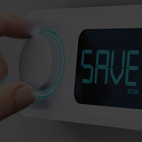 Set your thermostat to savings - Setting your thermostat to 78° in the summer and 68° in the winter will help you save. Each degree cooler or warmer will increase your energy use by 6 to 8%. Setting your thermostat at 72 in the summer could increase energy use by up to 40%.