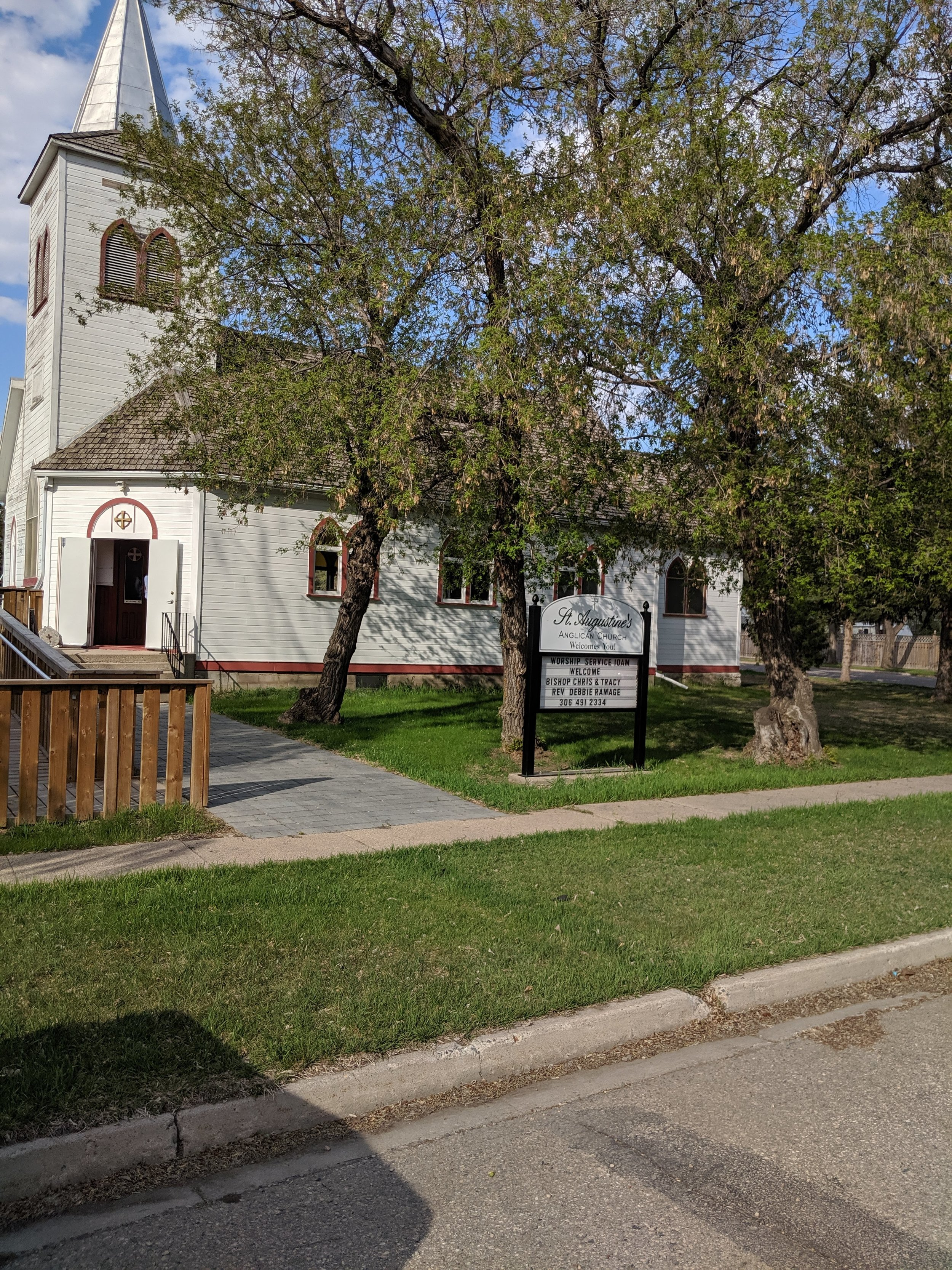 St. Augustine, Rosthern