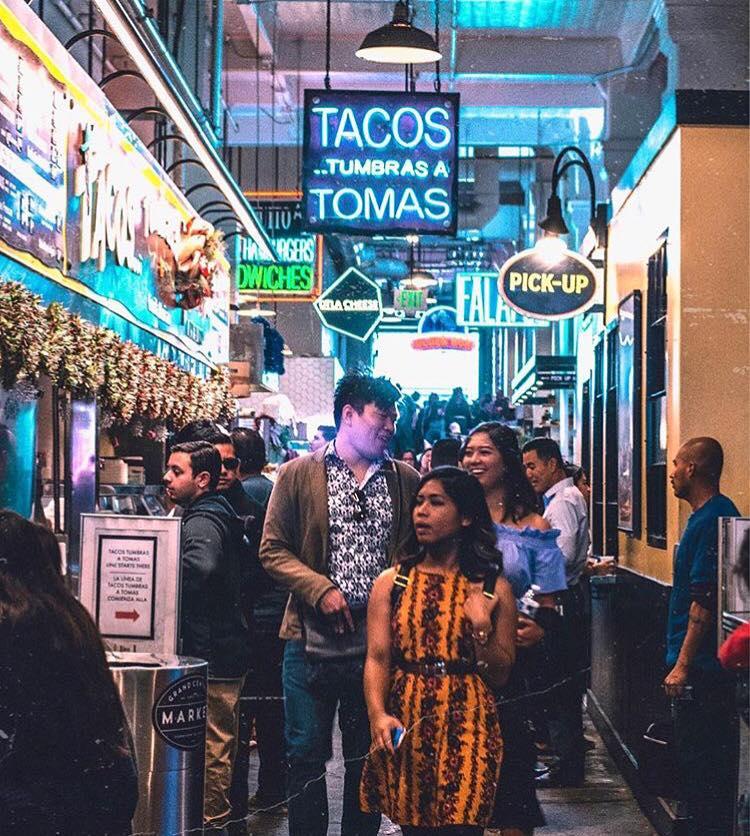 Visit DTLA - Grand Central Market Interior