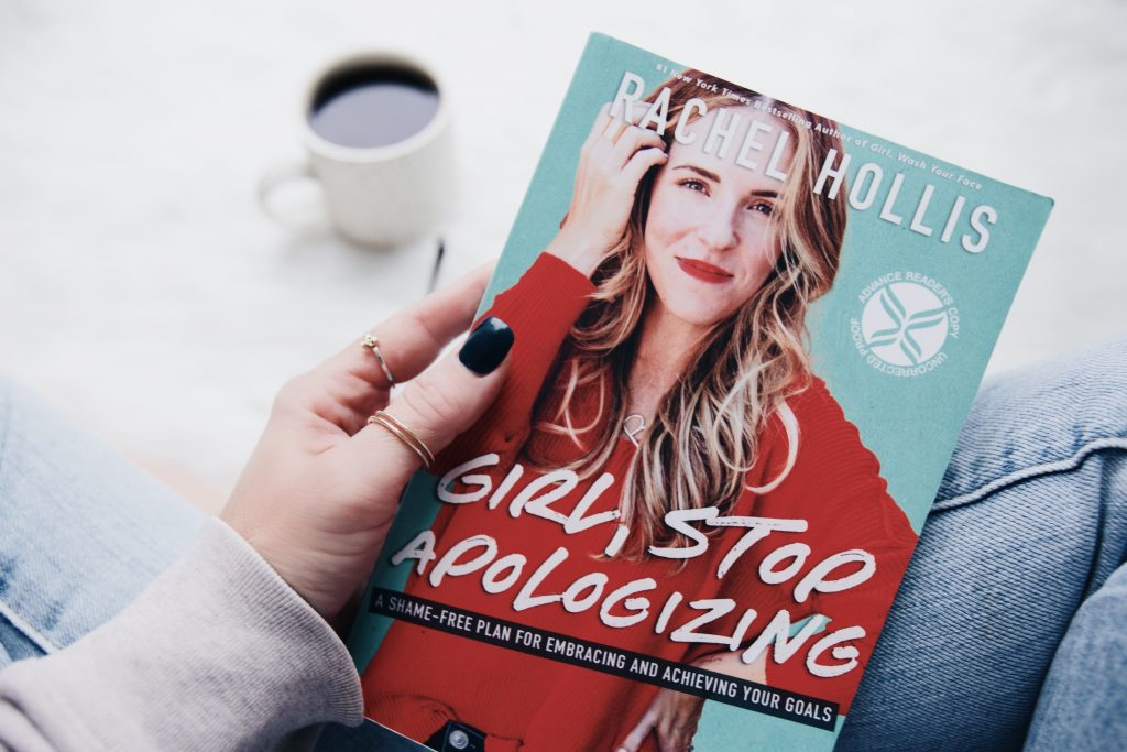 Book Review: Girl, Stop Apologizing by Rachel Hollis