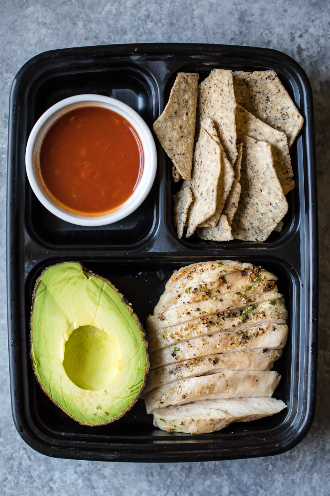 "Eat Like A Grown Up - While these four lunch boxes from Ambitious Kitchen are meant for adults, I could see James face planting into that avocado, and devouring those chicken and hummus wraps. I love the idea of moving away from ""kid food"" to help him develop a well-rounded palate!"