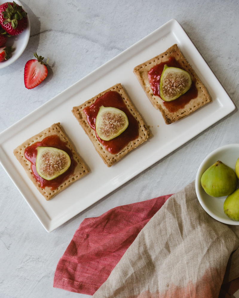 Easy Homemade Air Fryer Pop Tarts Recipe #piecrust #strawberry #flavors #ideas