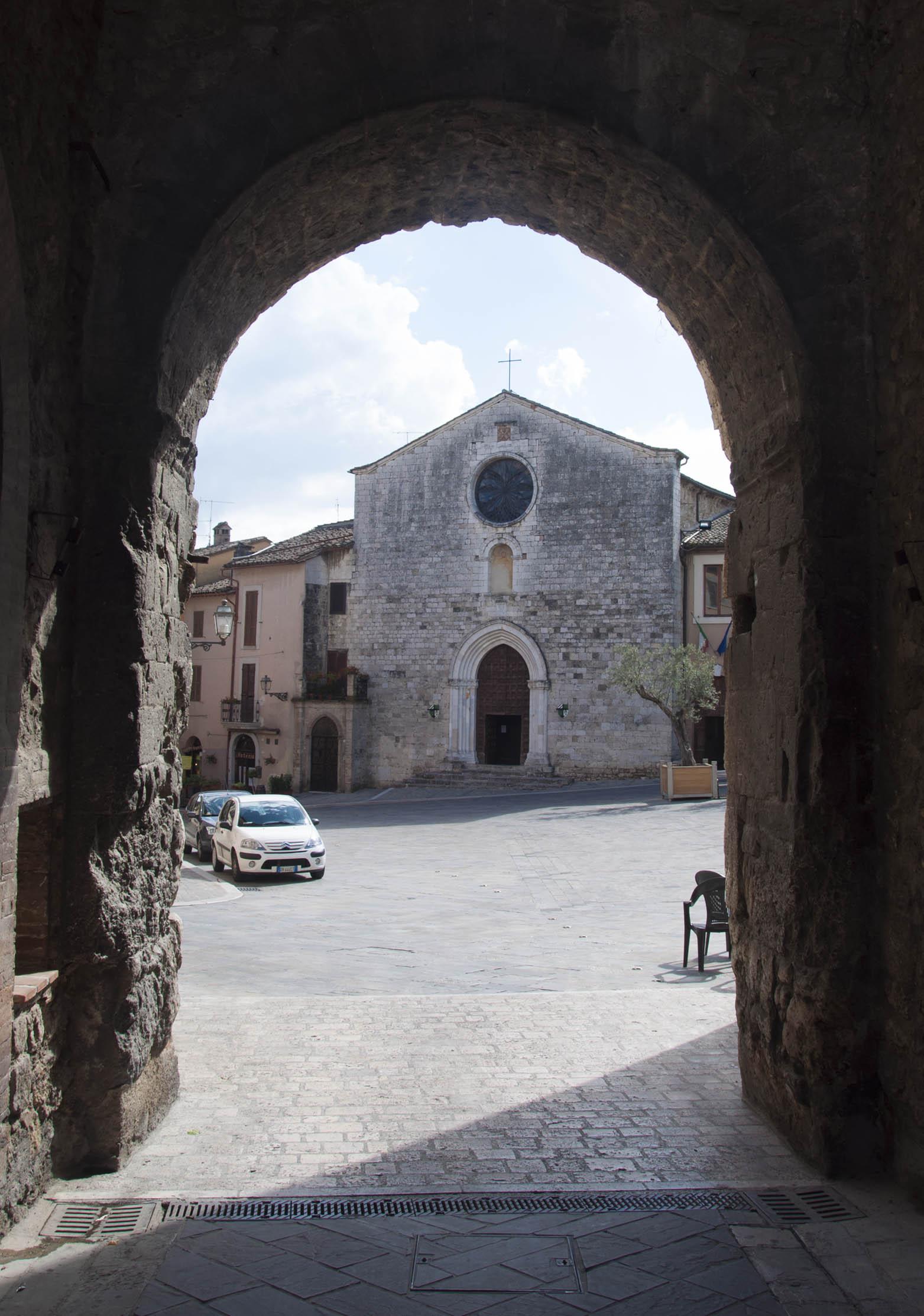 San Gemini, Church of Saint Francis
