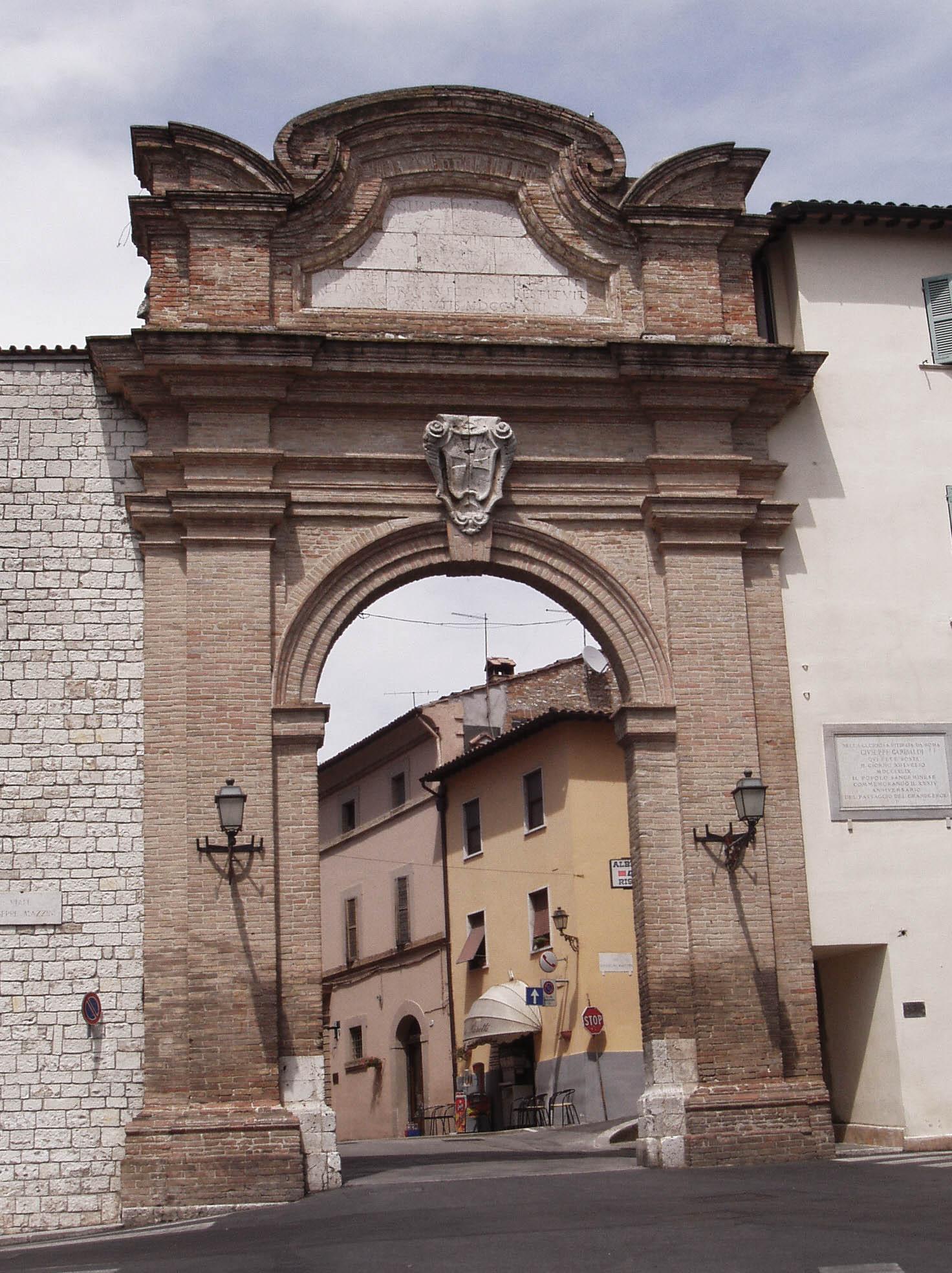 San Gemini, Porta Romana