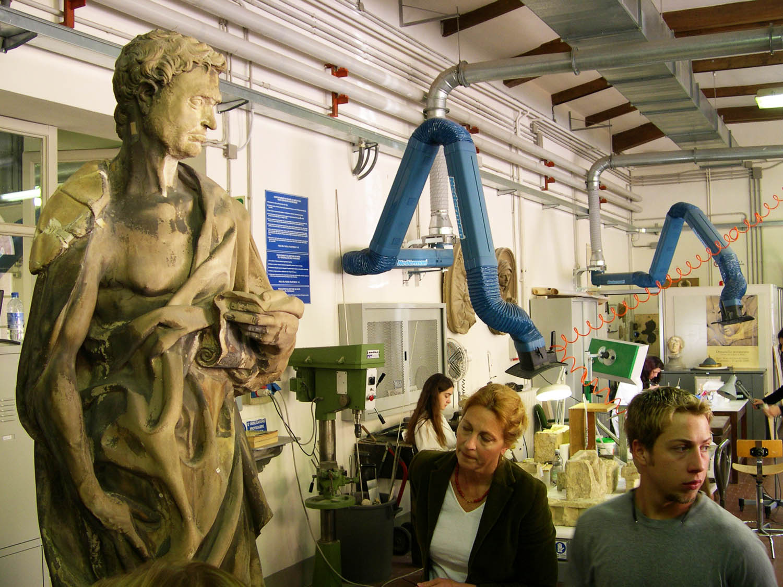Florence, visit to the Opificio della Pietra Dura (OPD)