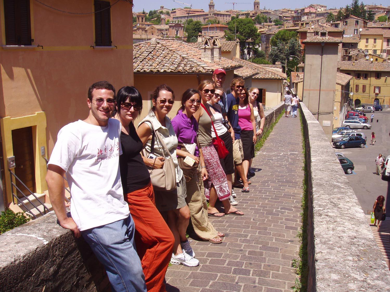 Perugia Via dell' Acquedotto