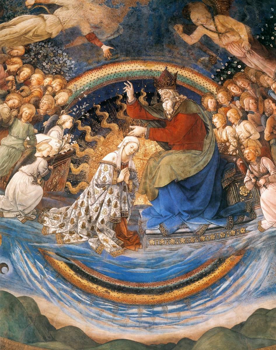 Spoleto, Duomo, Filippo Lippi Coronation