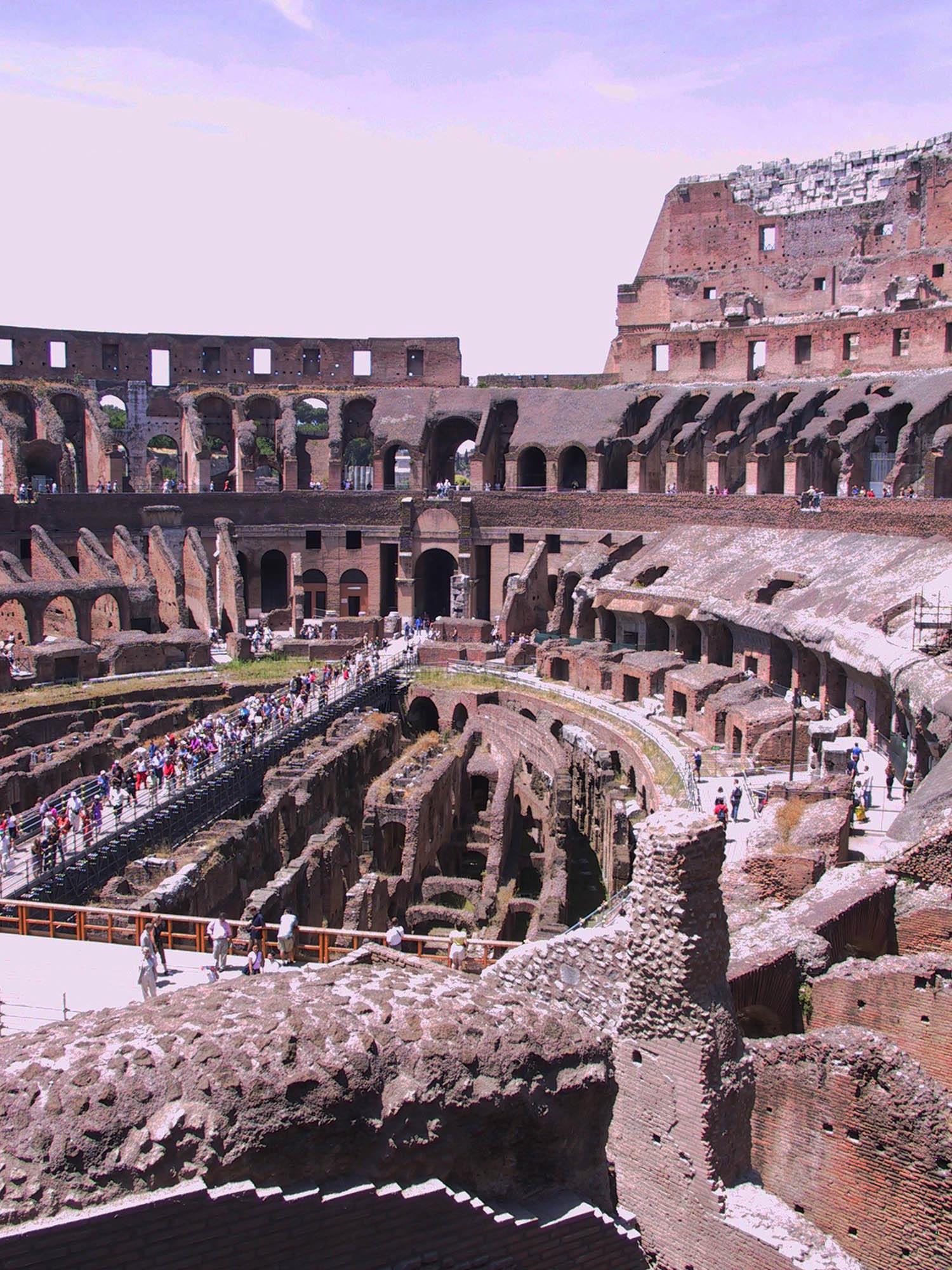 Rome, Flavian Amphitheater