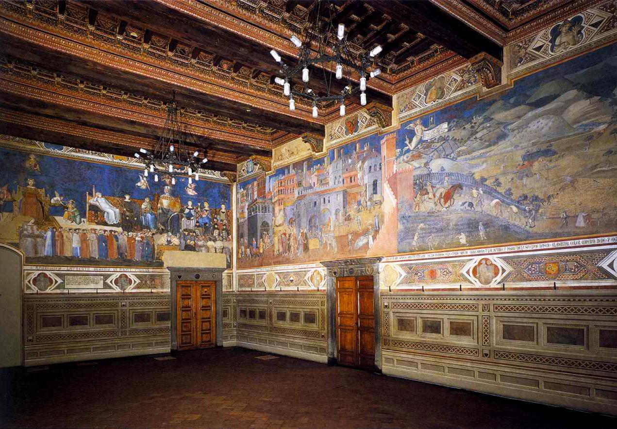 Siena, Sala dei Nove