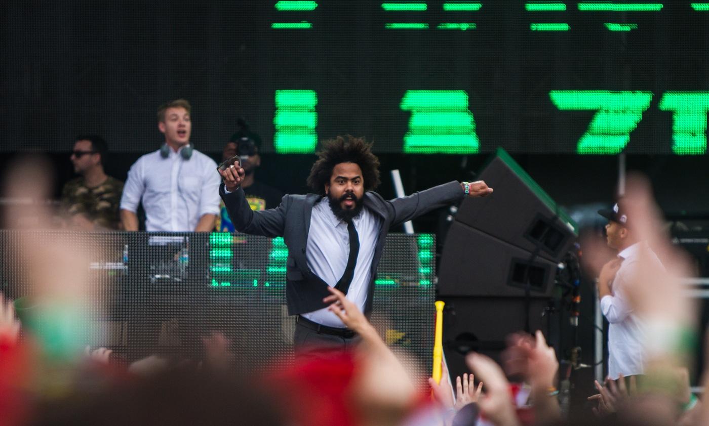 Major Lazer at Ultra Music Festival 2013   Miami, FL
