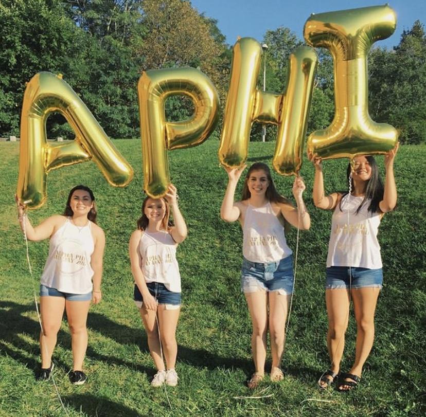 RPI Alpha Phi Bid Day