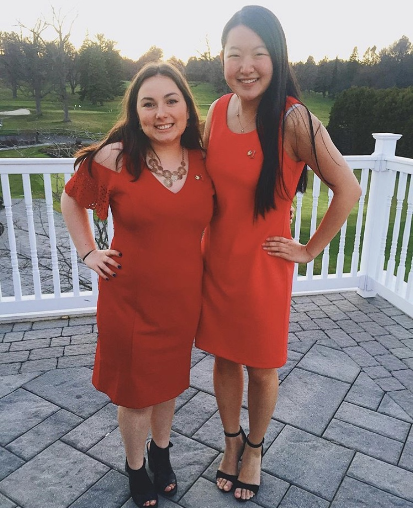 RPI Alpha Phi Red Dress