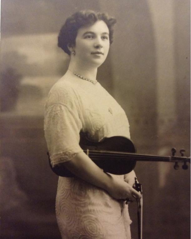 The author's grandmother, Lea Luboshutz