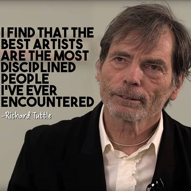 What it takes to be an artist? Discipline and motivation. Get those two and the rest will be easy. 🎨 . . RP @veryprivateart