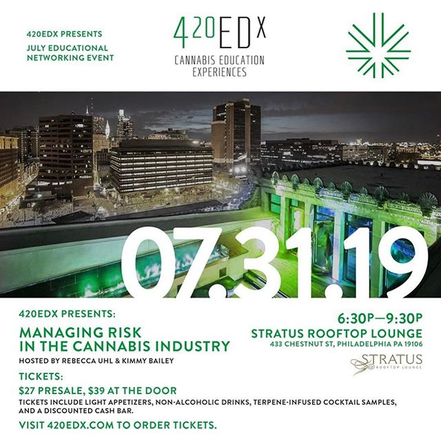 Ain't no party like a rooftop party!  Let's hang out at stratus lounge tonight! Use MINDLEAF20 for 20% off tickets. . . . . #mindleaf #feedyourmind #420 #education #cbd #hemp #cannabis #cannabidiol #cannabiscommunity #cannabinoids #cbdeducation #cannabiseducation #edibles #medibles #cbdproducts #weedstagram #rooftop #lounge #hotelmonaco #philly #philadelphia #ent #help #inform #inspire