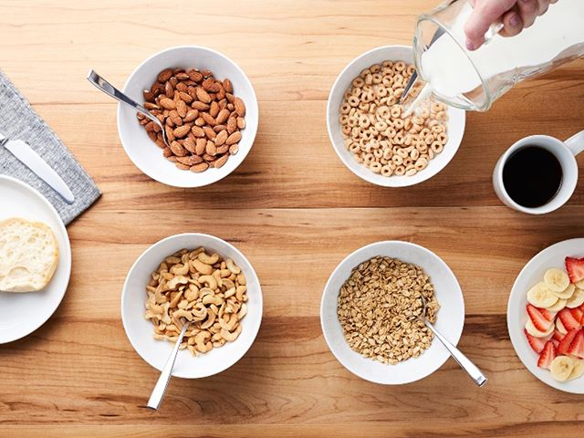 Don't be fooled by almond, cashew or oat beverages this #AprilFoolsDay. Support working farm families in your community by serving a wholesome and nutritious breakfast featuring real dairy. #ThisMarkMatters.