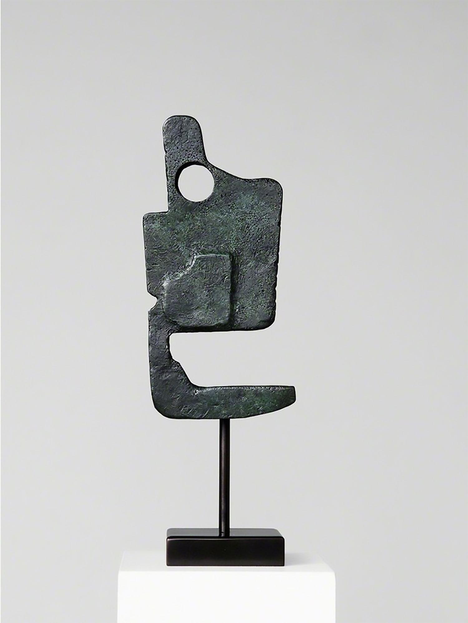 """Eudaemon , 2016 Édition de 4  Bronze 5 x 15 x 3 1/2""""."""