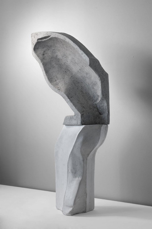 """Aphros , 2014  Édition de 4 Béton moulé et patine  5 1/8 x 16 7/8 x 18 7/8""""."""