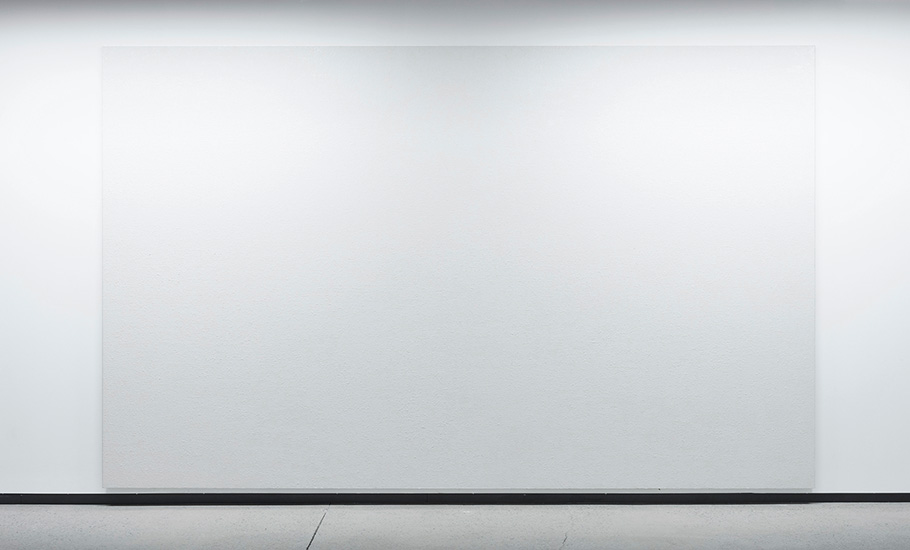 Illumination,  2016, Huile sur toile, 254 x 427 cm.