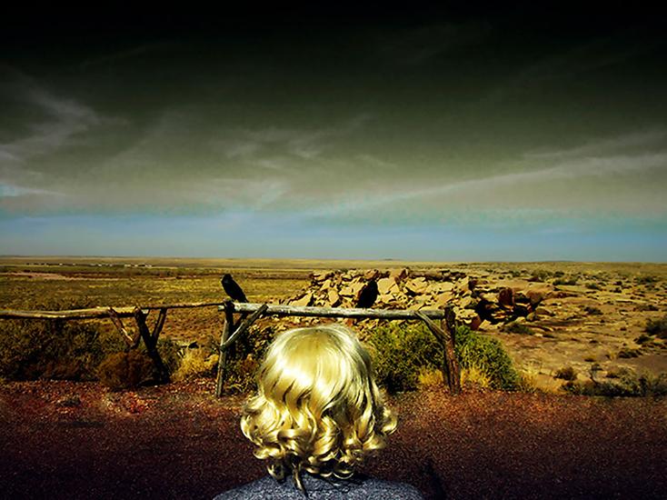 """Southwest I , 2008, Édition de 3, Impression au jet d'encre, 38 1/2 x 51""""."""
