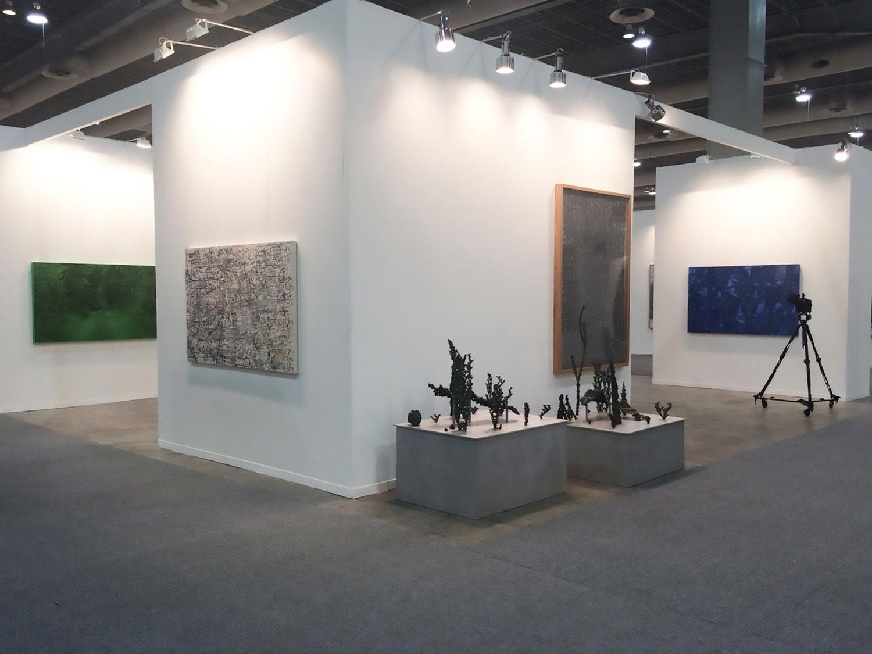 Vue d'installation Patrick Coutu, Nicolas Baier