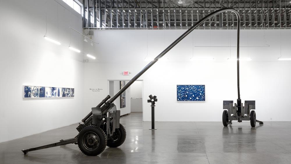 Blowback  ,  2013 Acier 10 x 4 x 4 m