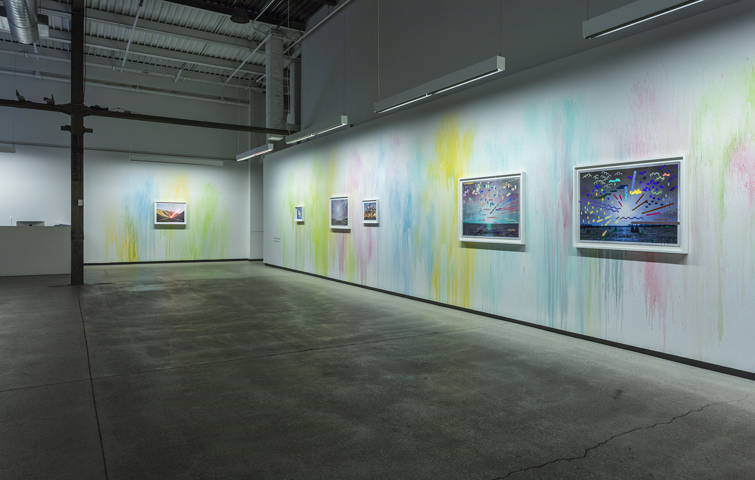 Vue d'installation  Rosy-Fingered Dawn