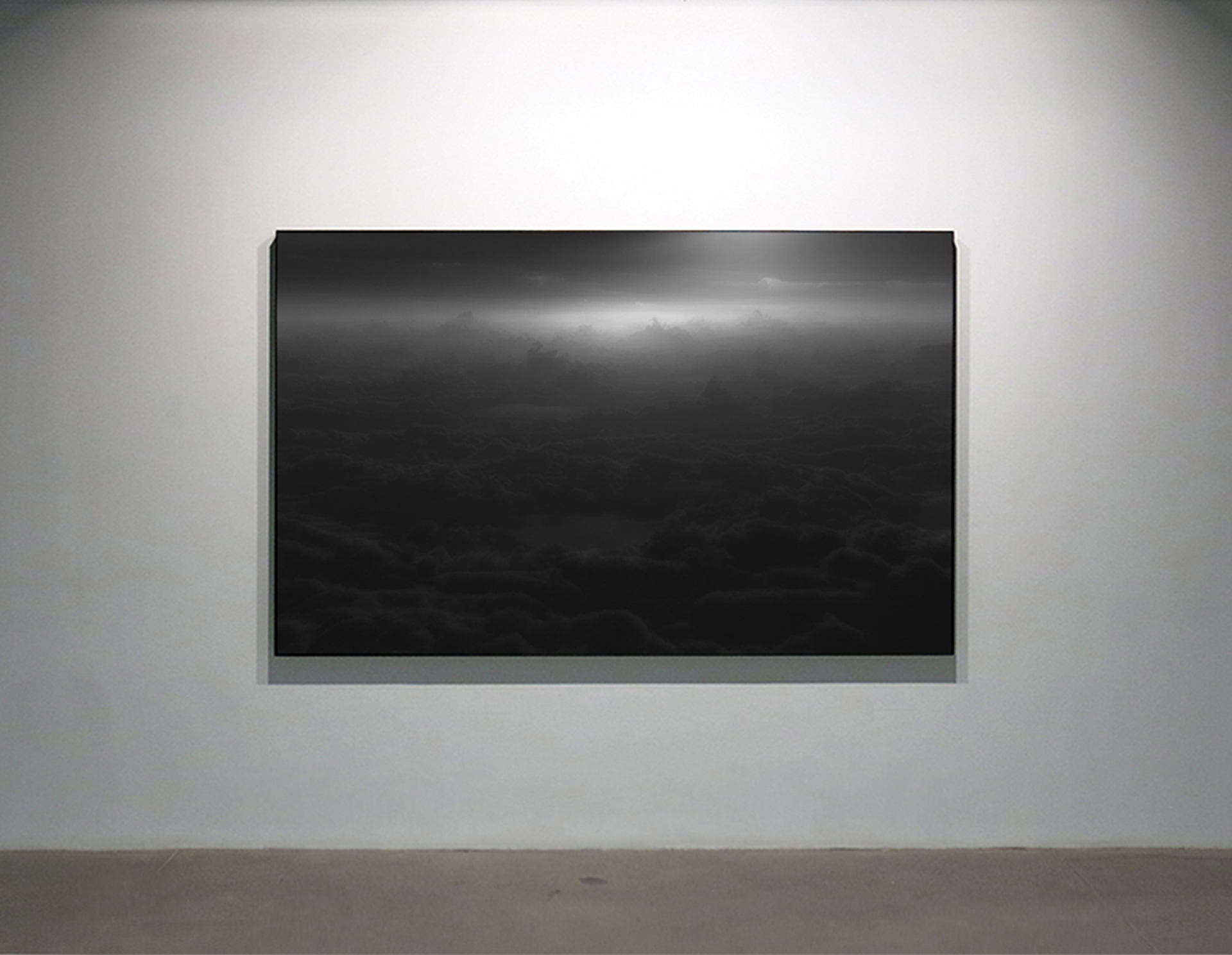 Reminiscence 02 , 2013 Ink jet print, acrylic, steel 152 x 244 cm