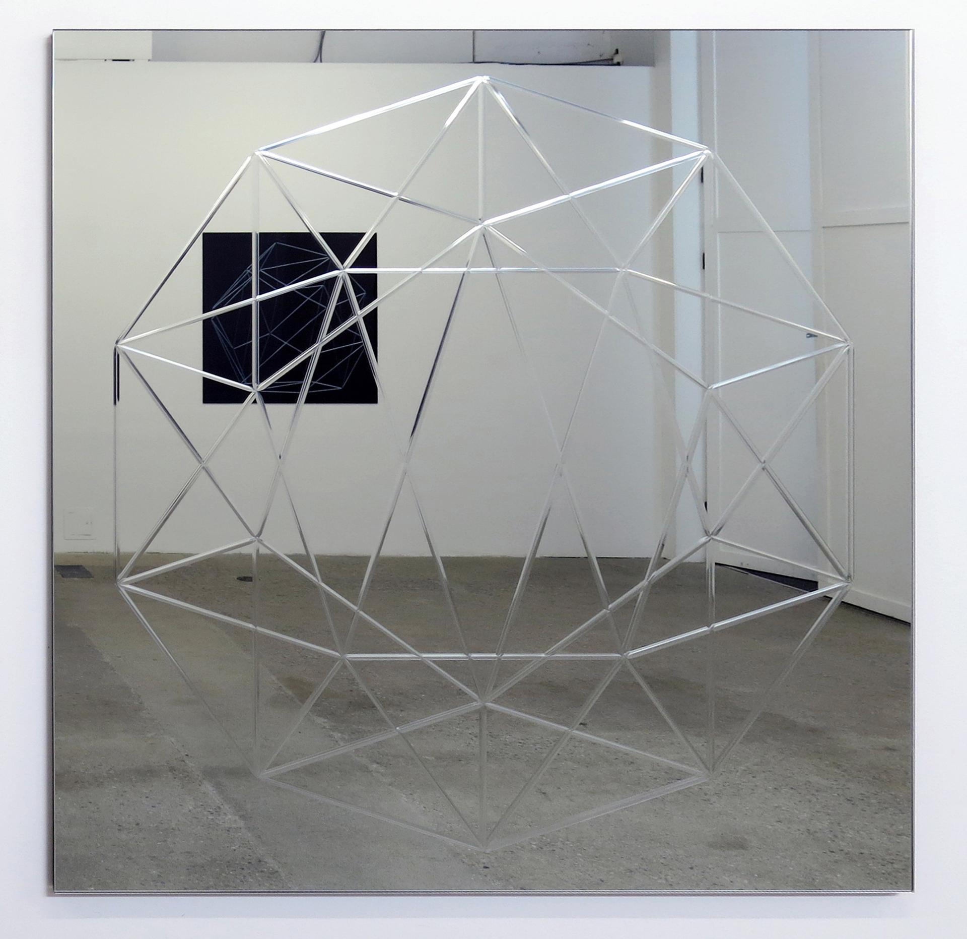 Miroir (Dodécaèdre) 02  , 2013 Miroir 107 x 107 cm