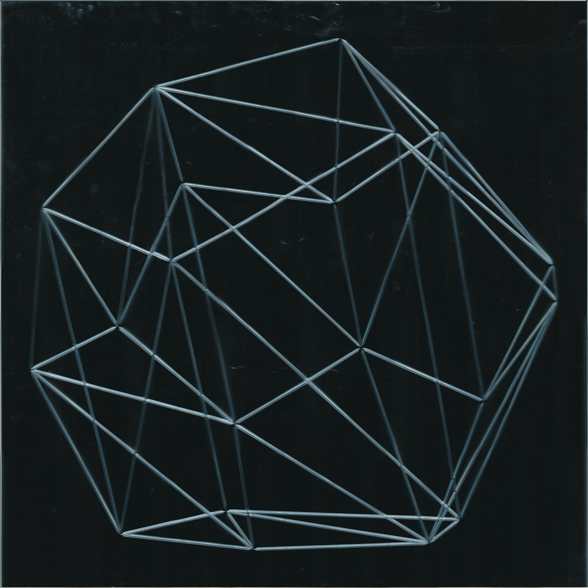 Vanités (Dodécaèdre) 01  Miroir 107 x 107 cm