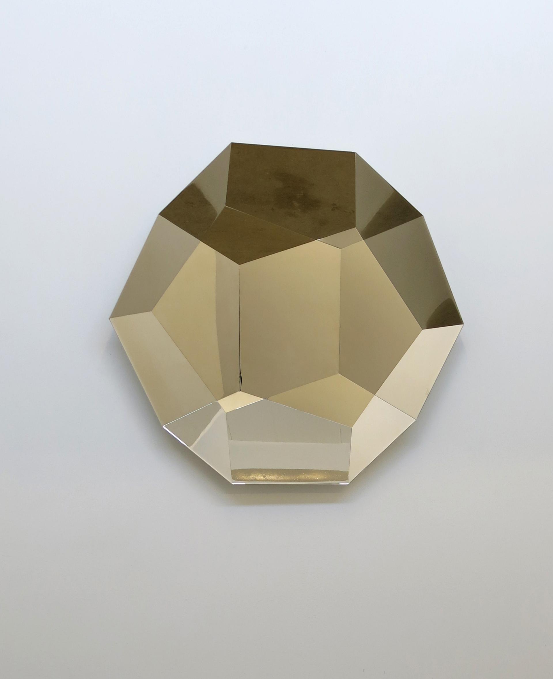 Kaleidoscope , 2013 Acier, nickel 106 x 106 x 10 cm