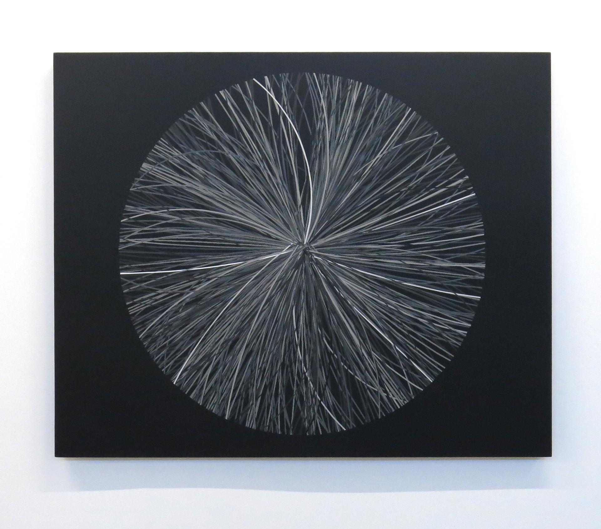 Production de masse A-02 , 2013  Acrylique sur toile 107 x 130 cm