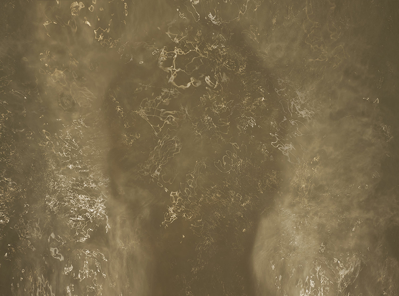 Soupe , 2013 Impression au jet d'encre, acier 91 x 122 cm