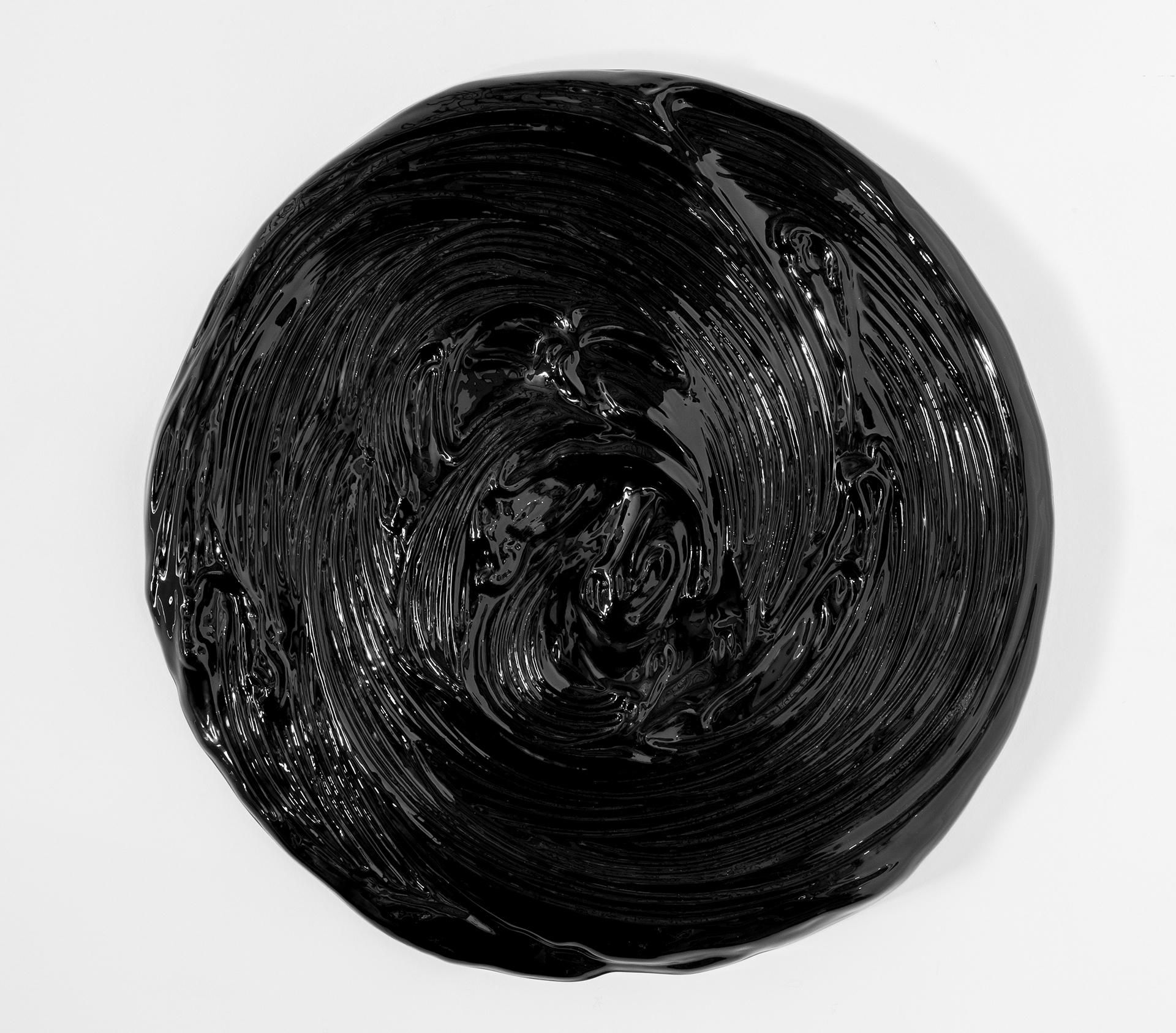 Matière noire 03, 2017 Mousse haute densité, peinture epoxy 92 cm