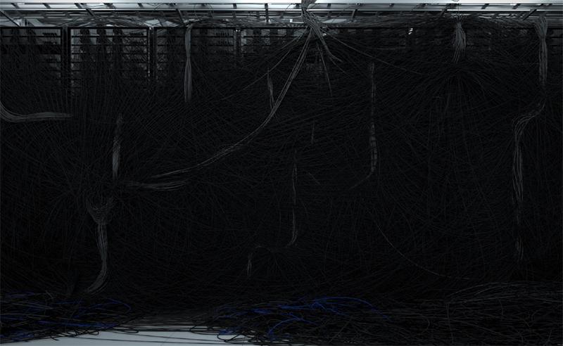 """Dendrites , 2016 Édition de 2  Impression au jet d'encre, acrylique, acier 58 x 93"""""""