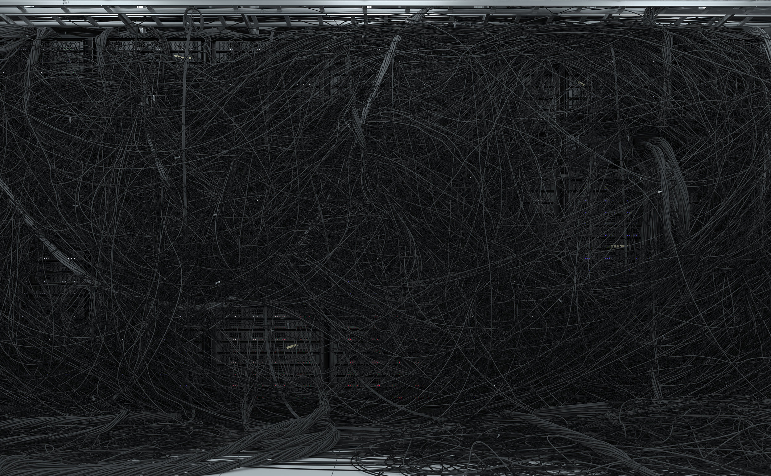 """Dendrite II , 2017, Édition de 2, Impression au jet d'encre, acrylique, acier, 59 3/4 x 96""""."""