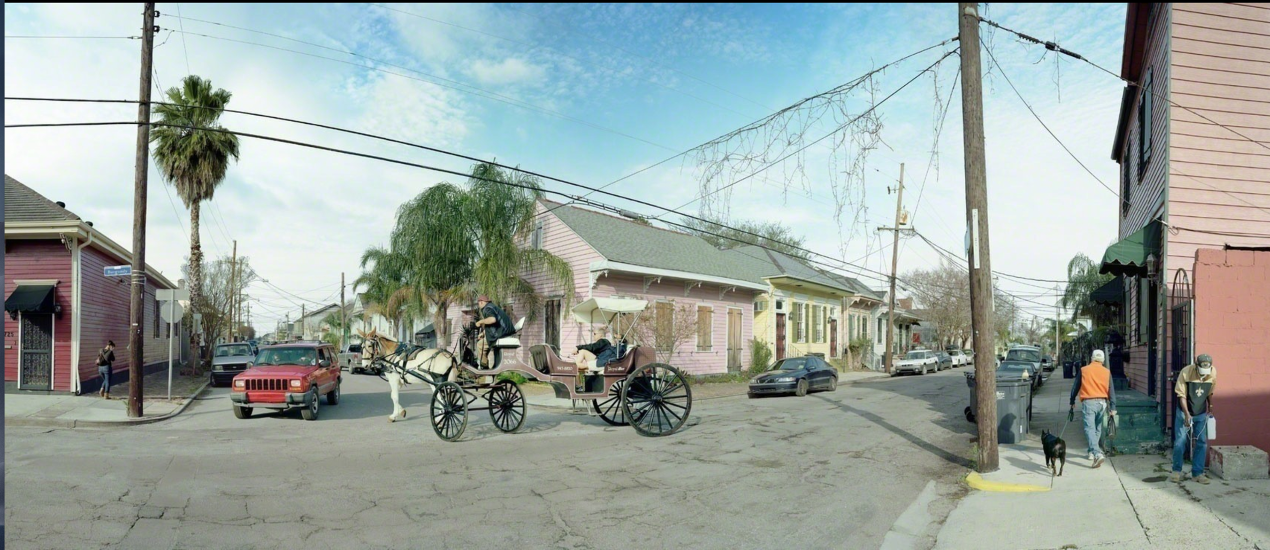 Burgundy Street, The Marigny, New Orleans , 2014, Impression au jet d'encre