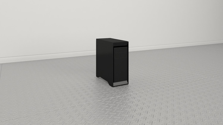 """Black Box , 2019,Impression 3D,22"""" x 21"""" x 10"""""""