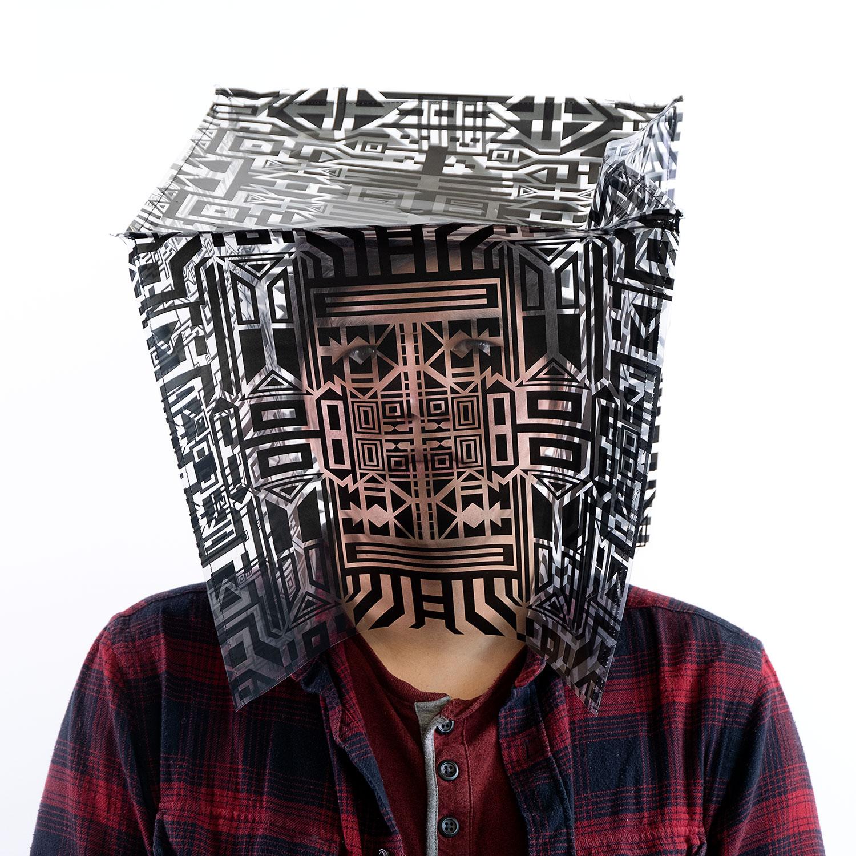 """Alexandre (série Fragment) , 2019, Édition de 3, Impression numérique sur papier, 24"""" x 24""""."""