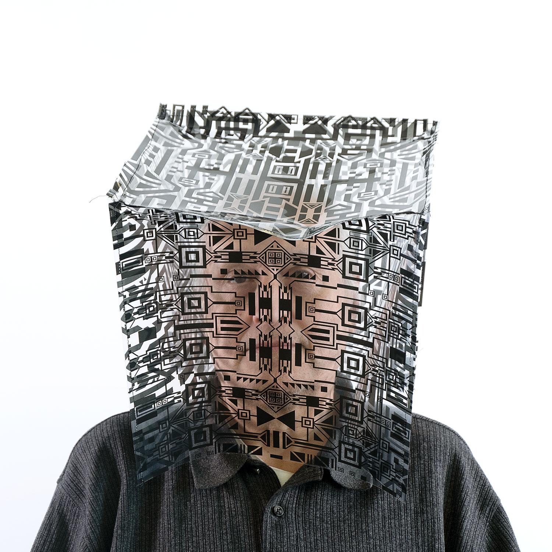 """André (série Fragment),  2019 Édition de 3, Impression numérique sur papier, 24"""" x 24""""."""