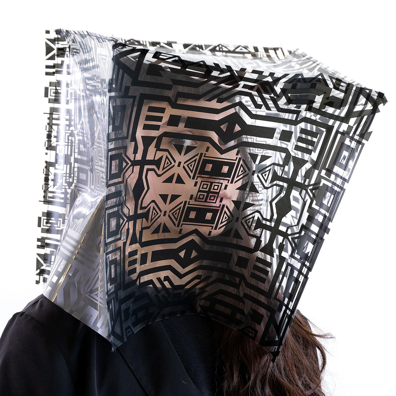 """Melissa (série Fragment),  2019, Édition de 3, Impression numérique sur papier, 24"""" x 24""""."""