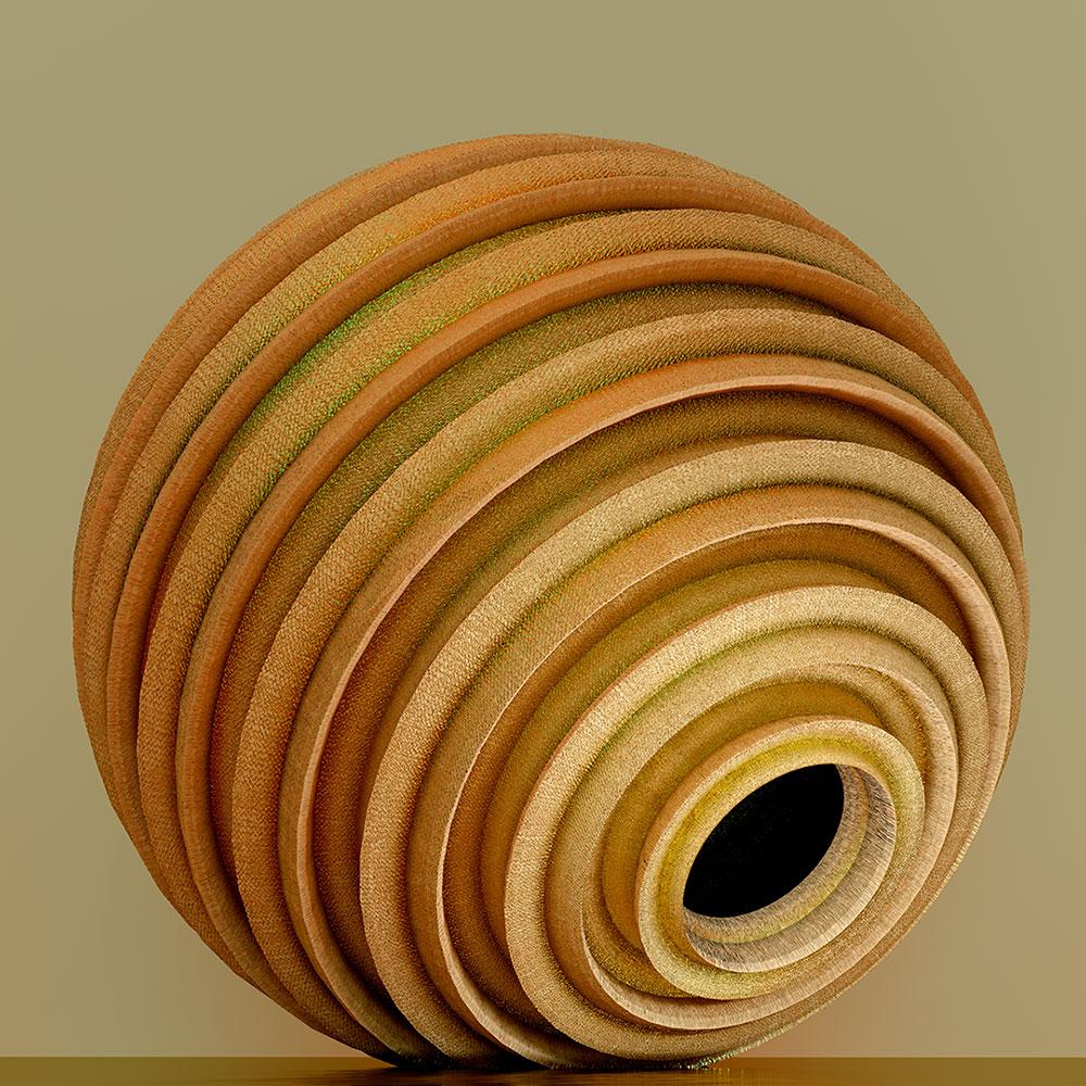 """Golden Urn , 2019, Épreuve à développement chromogène, 20"""" x 20"""""""