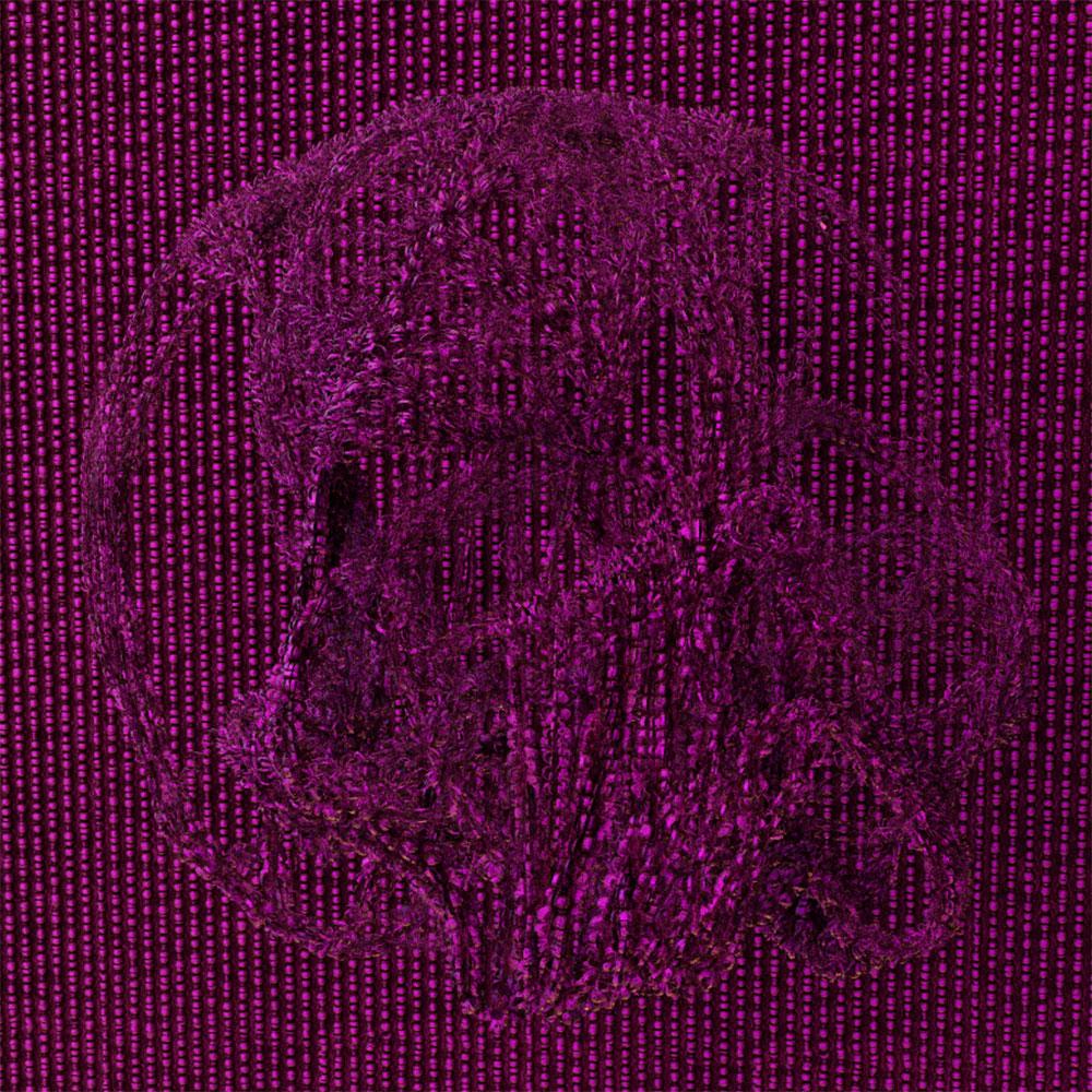 """Purple Skull , 2019, Épreuve à développement chromogène, 30"""" x 30"""""""